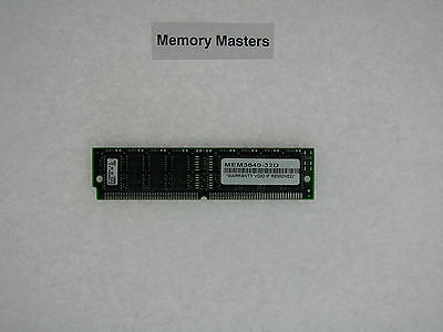 32d Cisco Approved Memory - MEM3640-32D 32MB Approved Memory for Cisco 3640 Router
