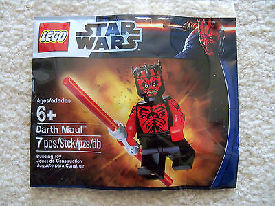 Lego Star Wars   Super Rare Darth Maul 6005188 5000062   New Sealed   Exclusive
