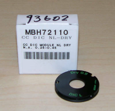 New Nikon C-c Dic-nl Microscope Condenser Module Dry
