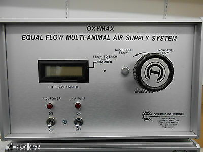 Columbus Instruments Oxymax Equal Flow Multi-animal Air Supply System Eqf-12
