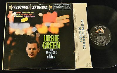 SCARCE ORIG Urbie Green Best of New Broadway Show Hits RCA LIVING STEREO