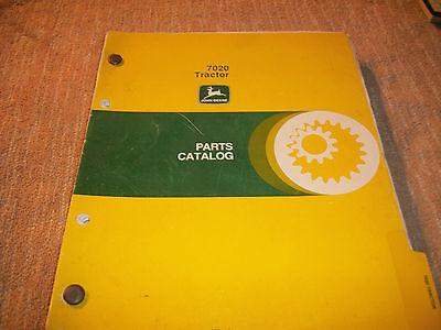 Original John Deere 7020 Tractor Parts Catalog Manual