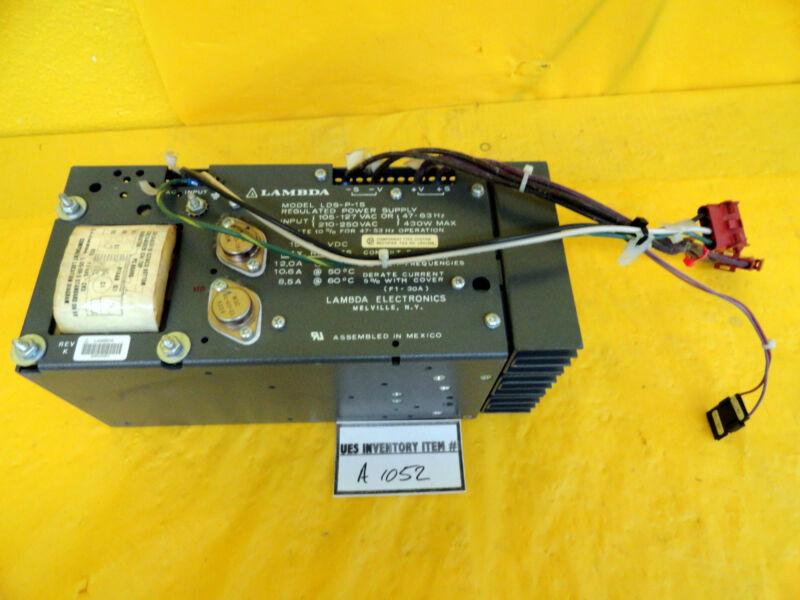 Lambda LDS-P-15 DC Regulated Power Supply Used Working