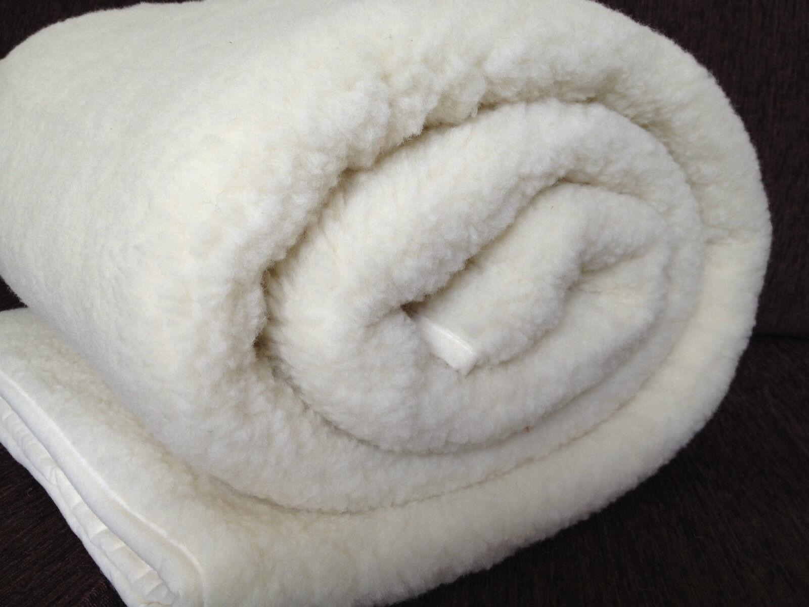 Australische Merinowolle Matratzenauflage Unter Decke