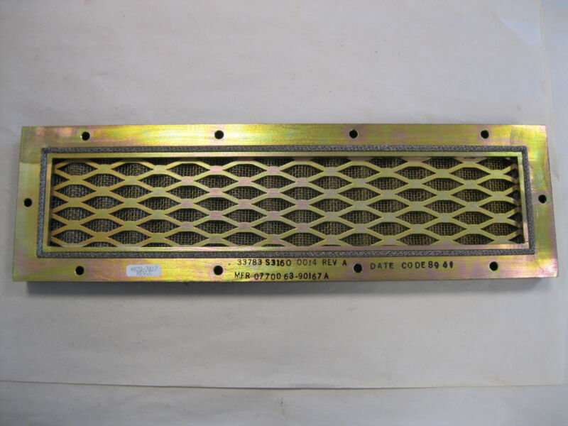 BR COMMUNICATIONS AIR CONDITIONING FILTER ELEMENT P/N 4028-3017