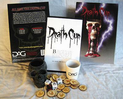 Halloween Drinking Game (DEATH CUP DrunkAssGames Drinking Board Game Secret Santa Swap Gift)