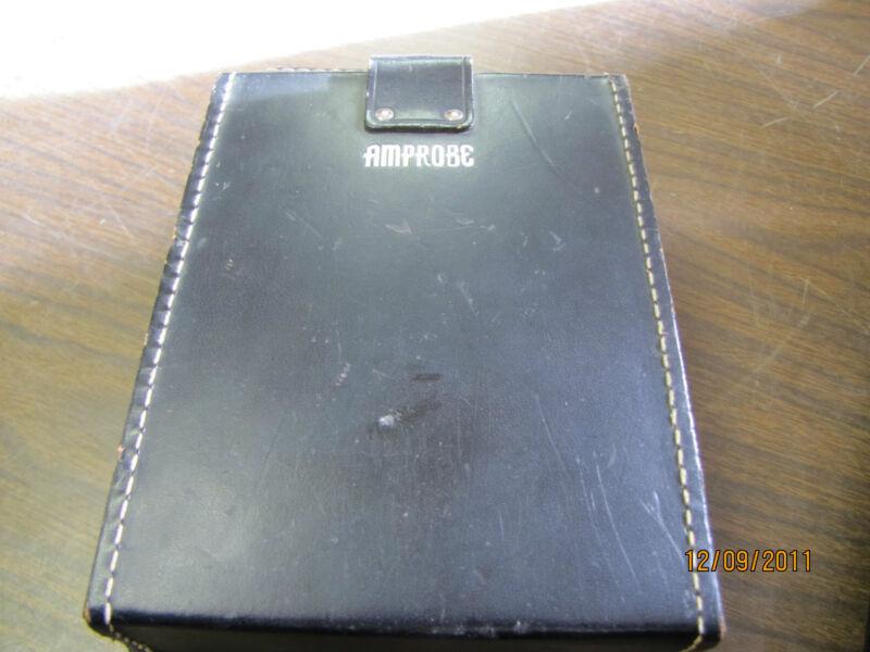 USED AMPROBE  RECORDING A.C. AMMETER LAA81