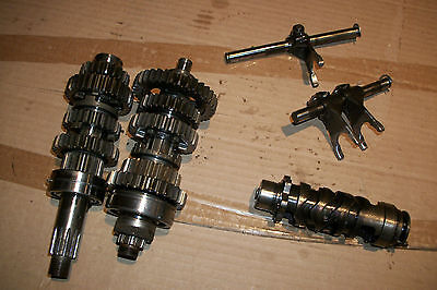 Yamaha 500 TX500 XS500 TX XS transmission tranny gears gear engine motor