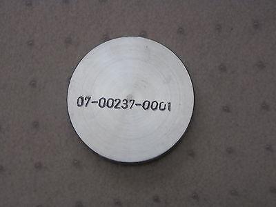 0.375 Thick 2.3 Diameter Aluminum Plate Disk