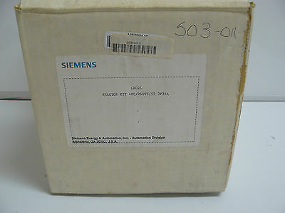 New Siemens Lr02l Reactor Kit 480240v 3 Pole 35 Amp3 Phase