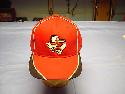 red/ black with ASTROS star emblem  (Astro Baseball)