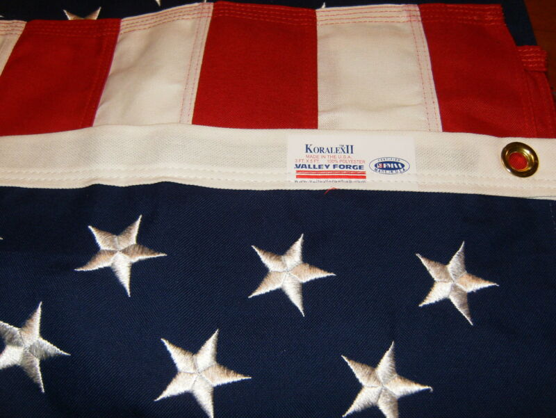 Commercial Grade- Valley Forge American Flag 3