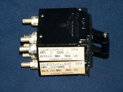 Klixon Texas Instruments switch NOS 12MCA-194-34 L4MC10-6-2 Electric100 Volts