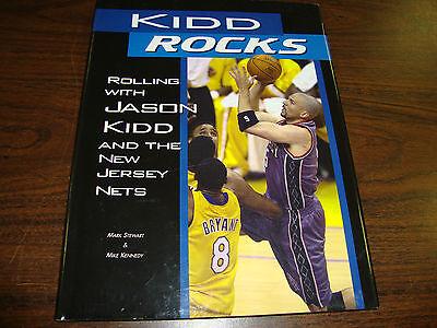 Kidd Rocks---Rolling With Jason Kidd & The New Jersey Nets---Hard - Cover New Jersey Nets