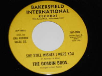 The Gosdin Bros  Nm She Still Wishes I Were You 45 There Must Be A Someone 1006