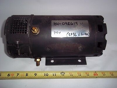 92619 Crown Forklift Used Motor 24 Volt