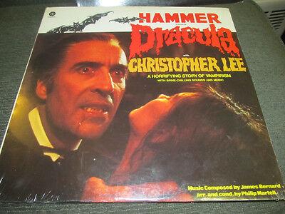 Hammer Präsentiert Dracula Still Verpackt 1974 Record LP Christopher Lee
