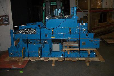 Hytrol Belt Driven Power Roller Conveyor With Unloaders