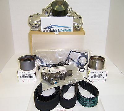 1991-1999 Mitsubishi 3000gt Stealth DOHC OEM Timing Belt Kit with Water Pump