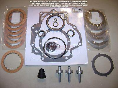 Pto Disc Gasket Piston Kit For Ih 706 806 1206 756 856 886 1086 1486 3388 3788