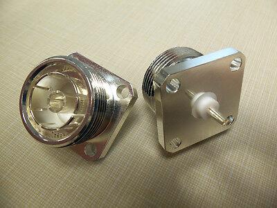 (1) Bird 43 Thruline Wattmeter QC Connectors 4240-344 7/16 DIN Female