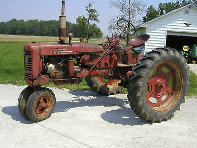 1955 Farmall 200 Ih Ihc Tractor Runs Good Easy Rider Seat Good Rubber Pto
