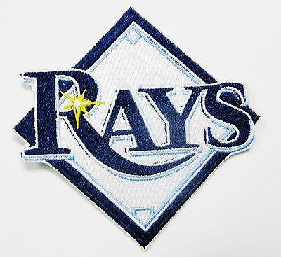 (1) LOT OF MLB BASEBALL TAMPA BAY RAYS EMBROIDERED PATCH PATCHES  ITEM # 50 - Tampabay Rays
