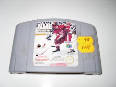 NHL Breakaway 99 Nintendo 64 N64 PAL