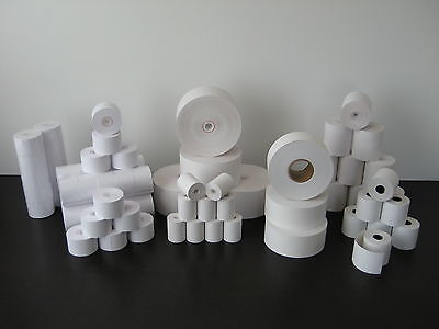 44mm 1-34 X 220 Thermal Cash Register Paper - 18 New Rolls Free Shipping
