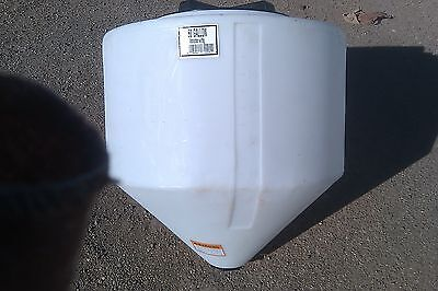 60 Gallon Cone Bottom Tank Only 31 X 32 No Stand Norwesco