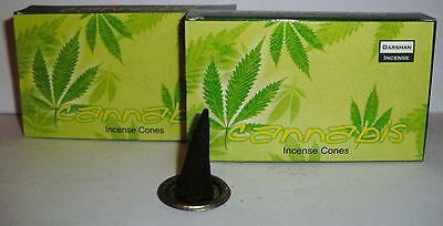 3 x 10 Räucherkerzen Räucherkegel Dhoop cones - Darshan cannabis