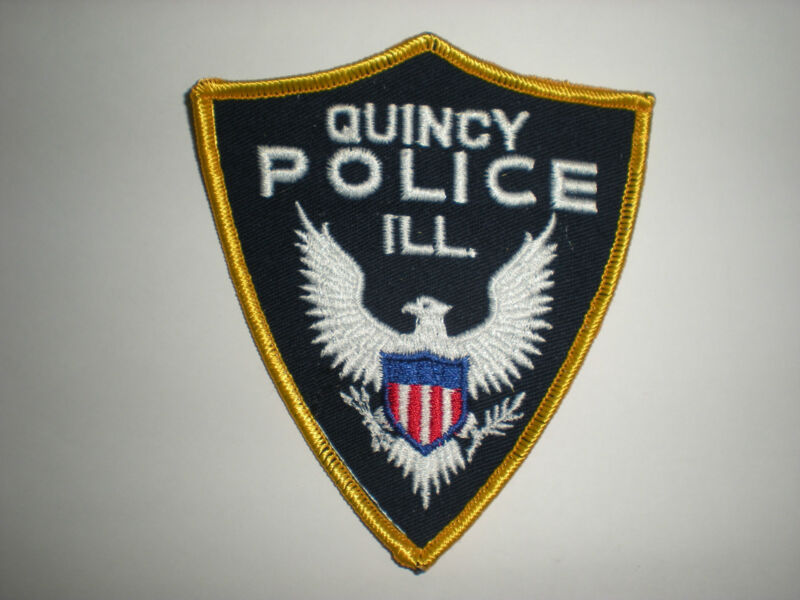 QUINCY, ILLINOIS POLICE DEPARTMENT PATCH