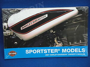 2007 Harley Davidson sportster xl owners manual 1200 883 custom low hugger
