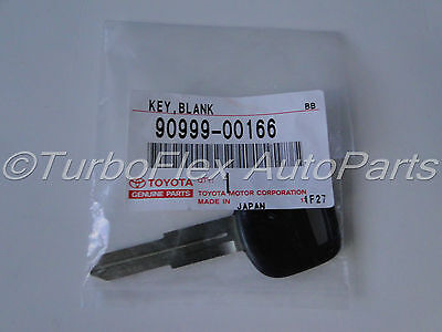 Toyota Celica Paseo Previa Tercel Genuine OEM Blank Key  90999-00166