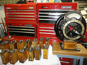 Ford Model T coil-Reconditioned and adjusted on orig hand cranked magneto tester