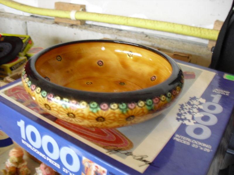 Beautiful Vintage Erphila Pottery Bowl LOOK