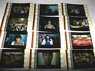 FERRIS BUELLER'S DAY OFF Film Cell Lot of 12 - collectibles compliments movie