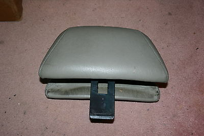 Used, 1994 Classic Saab 900 Convertible Taupe Leather Front Seat Head Rest for sale  Shipping to Ireland