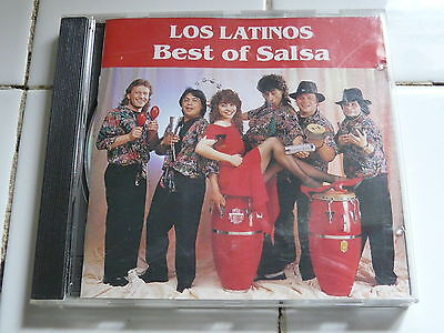 CD: Best of Salsa: LOS LATINOS ~ Rare Import ~ Latin Dance Music w/ Hector