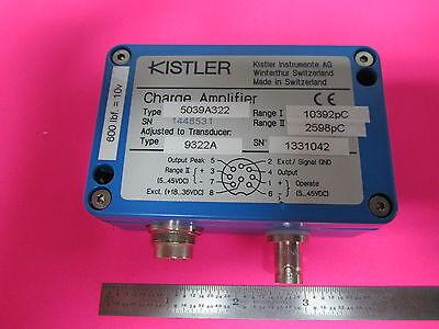 Kistler Charge Amplifier 5039a322 For Icp Iepe Force Accelerometer Sensor Etc