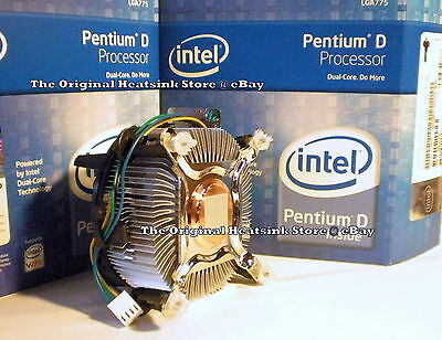 Intel D34017 Pentium D Heatsink Fan for Processor Model NO: 935-940-945-950-965