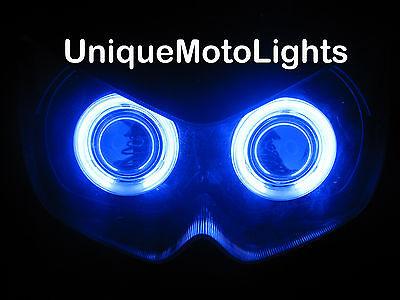 2008 - 2011 Kawasaki Ninja 250R 06-08 650R HID Projector Headlight angel eyes