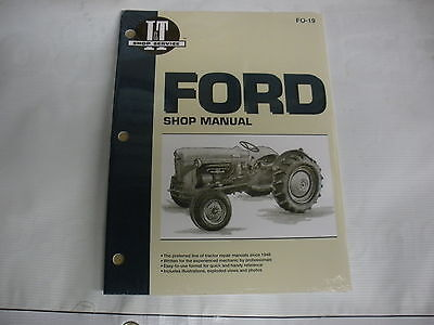 Ford Naa Golden Jubilee Service Manual It Fo19