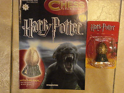 BN HARRY POTTER CHESS MAGAZINE NO.54 WITH THE GLOWING BLACK PAWN