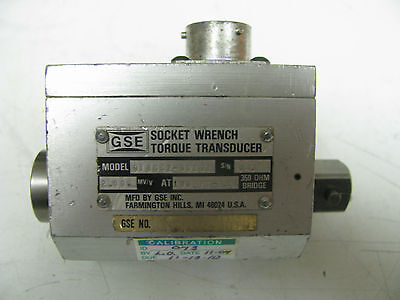 Gse Socket Wrench Torque Transducer 100 Ft Lbs - Gse16