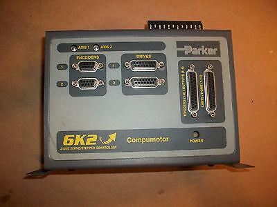 Parker Compumotor 2 Axis Servo Controller Model 6k2