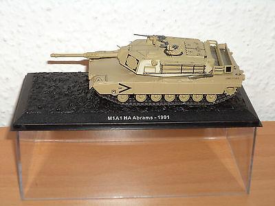 ATLAS Collection Panzer-Modell M1A1 HA Abrams - 1991 Neu & OVP Maßstab 1:72