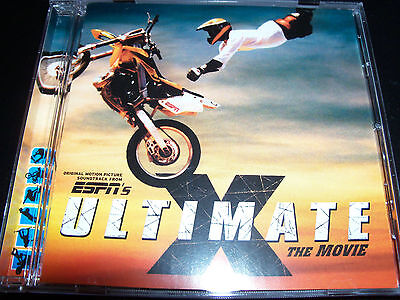 Ultimate X ESPN The Movie Soundtrack CD Feat Pennywise 3rd Strike Feeder OPM