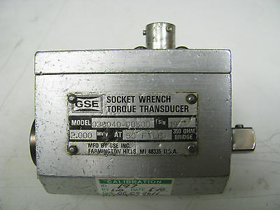Gse Socket Wrench Torque Transducer 50 Ft Lbs - Gse1