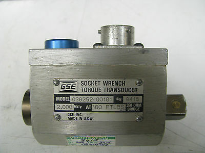 Gse Socket Wrench Torque Transducer 100 Ft Lbs - Gse20